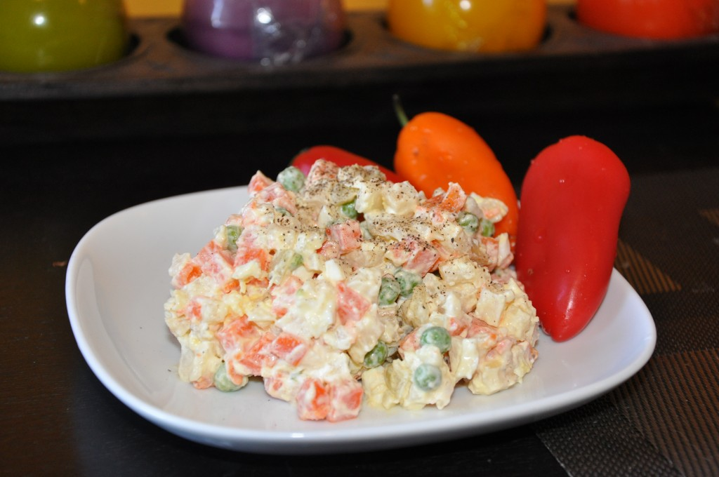 Vegetable salad recipe polish meals posted forumfinder Choice Image