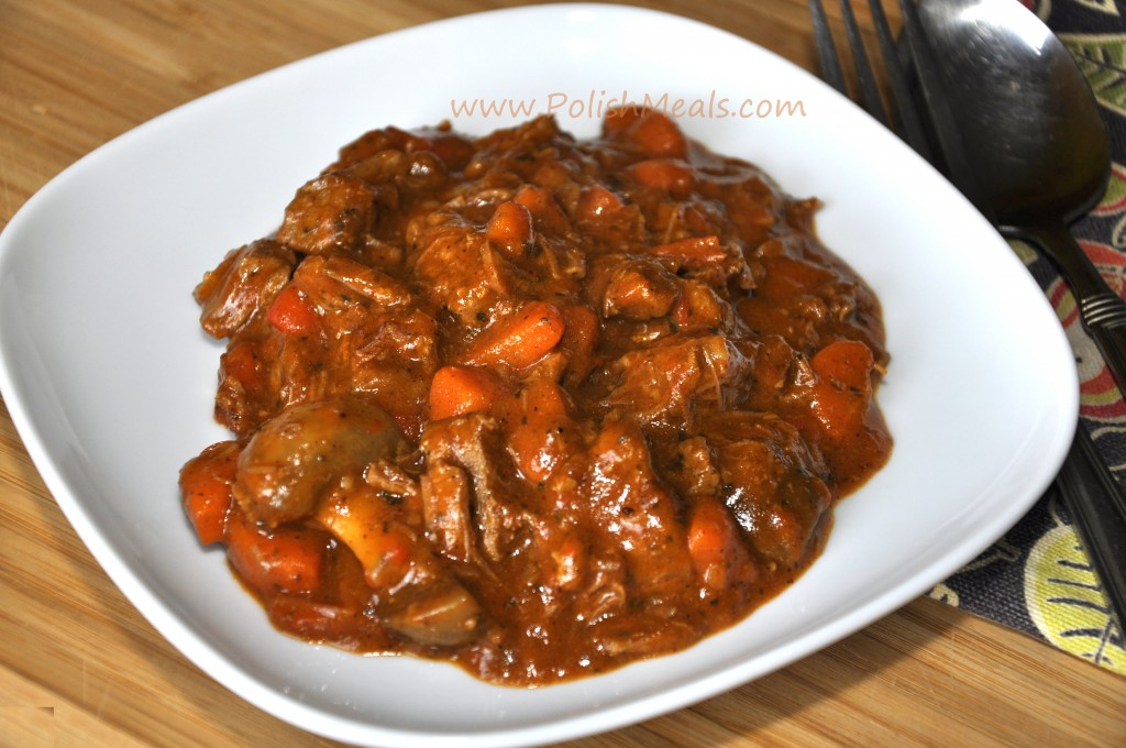 beef goulash with paprika recipes dishmaps hungarian beef goulash ...