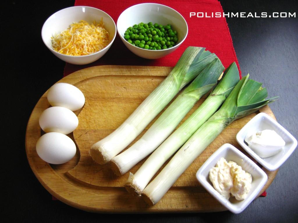 leek salad ingredients