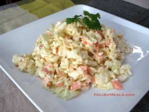 coleslaw surowka z kapusty www