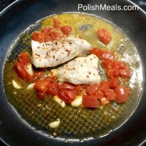 Garlic & Tomato Hake Fish 3