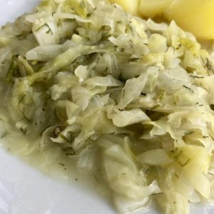 Fried Young Green Cabbage 3